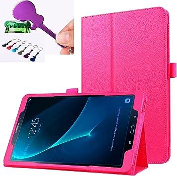 SOTEFE® Cuero PU Funda Samsung Galaxy Tab A6 10.1 SM-T580 Funda: Amazon.es: Electrónica