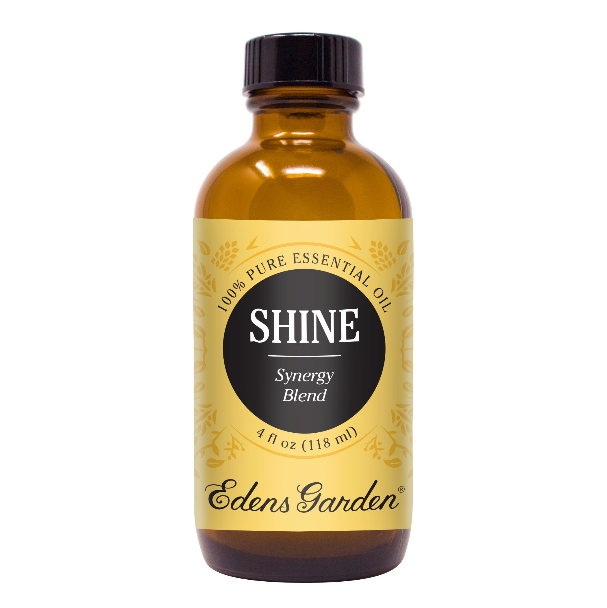 Edens Garden Shine Essential Oil Synergy Blend, 100% Pure Therapeutic Grade (Highest Quality Aromatherapy Oils- Anxiety & Stress), 118 ml