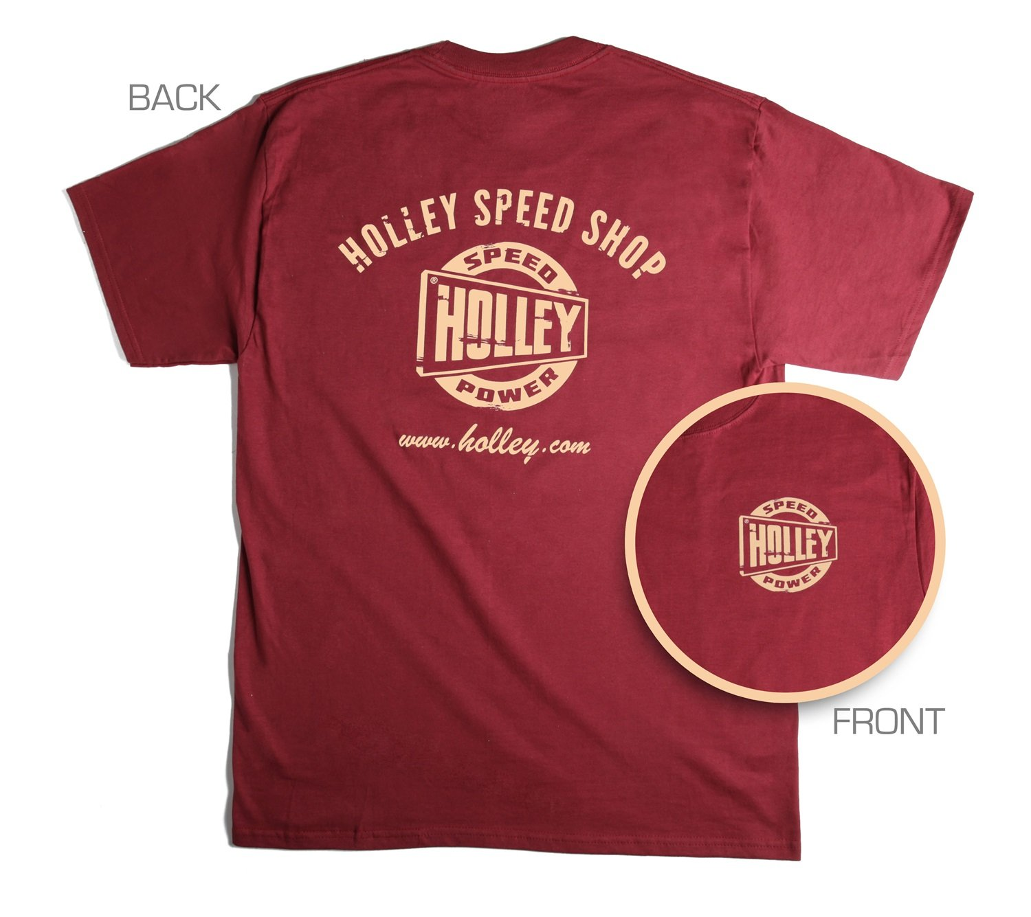 Holley 10024-XLHOL Red X-Large Truck T-Shirt