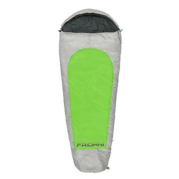 Fridani Saco de Dormir de Momia XL para niños MG 175x70 cm -19°C Repelente al Agua Caliente Lavable: Amazon.es: Deportes y aire libre