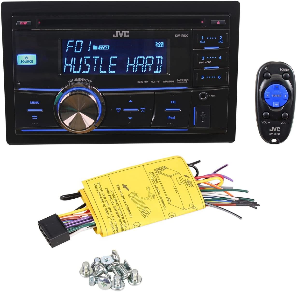 [SCHEMATICS_44OR]  Amazon.com: KW-R500: Car Electronics | Jvc Kw R500 Wiring Harness Diagram |  | Amazon.com