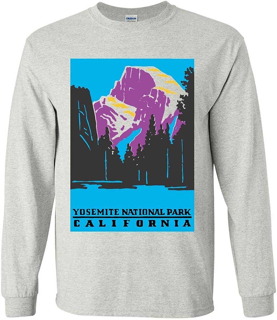 Gift  National Park NPS Yosemite California Men/'s Sweatshirt Crewneck S-3X