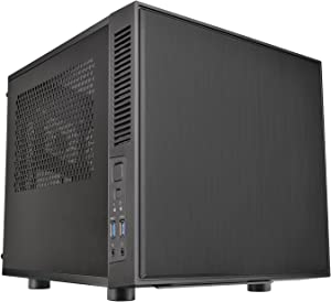 Thermaltake Suppressor F1 Mini ITX Tt LCS Certified Cube Computer Chassis CA-1E6-00S1WN-00
