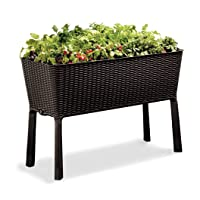 Deals on Keter Easy Grow Patio Garden Flower Plant Planter
