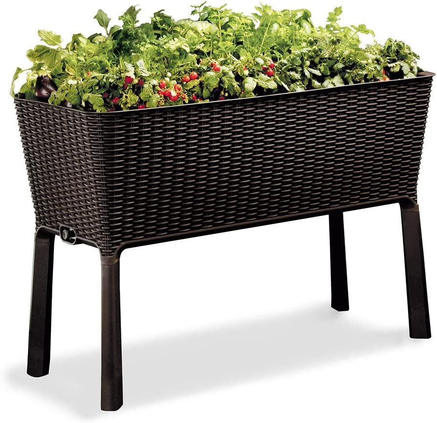 Vertical gardening has never been easier with this raised garden bed
