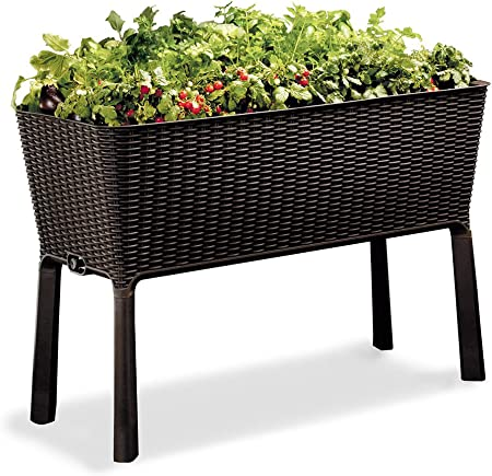 Keter Easy Grow 31.7 Gallon Raised Garden Bed with self watering Planter Box product image