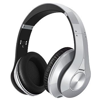 Mpow 059 sobre oreja Auriculares Bluetooth, auriculares inalámbricos de estéreo de alta fidelidad, plegable