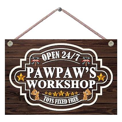 Amazoncom Pet Project Novelty Signs Pawpaws Workshop