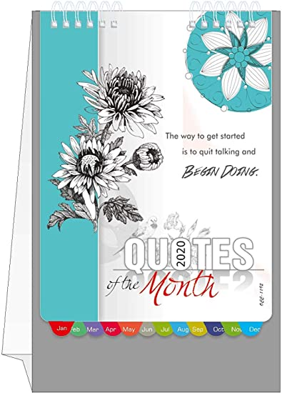 aone quotes of the month calendar desk calendar table
