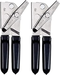 product image for EZ-DUZ-IT Deluxe Can Opener with Black Grips (Set of 2)