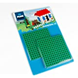 Plus-Plus 12 x 12 cm Base Plate Duo Pack for Construction Design