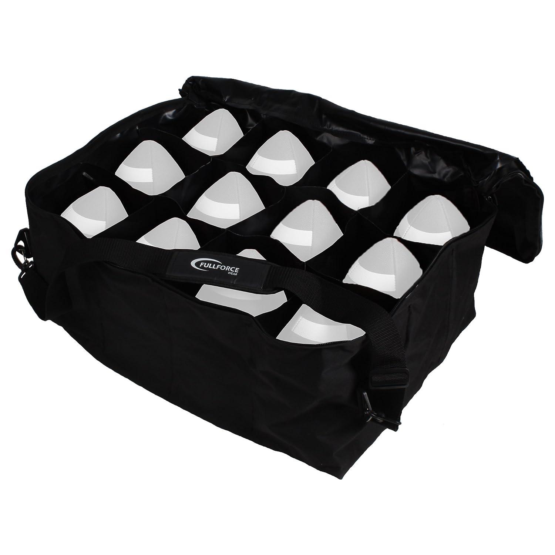 Full Force Wear Borsa American Football Duffle Bag, Palla da Football –  12 palline Palla da Football-12palline