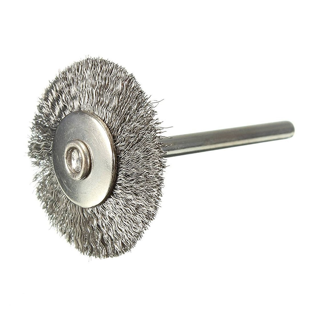 TOOGOO(R)Brushes for Stainless Steel Drill Round Brush 25mm For Rotary Tool
