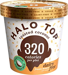 product image for Halo Top, Dairy-Free Toasted Coconut, Pint (8 count)