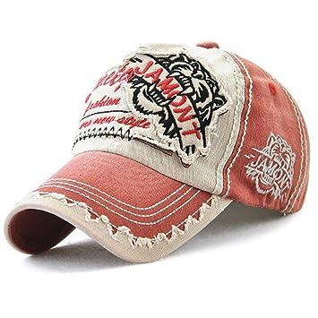 Gorras Beisbol,Zarupeng Gorra de Bordado de los Hombres de la Moda Gorra de béisbol de la Moda Topee (E): Amazon.es: Deportes y aire libre