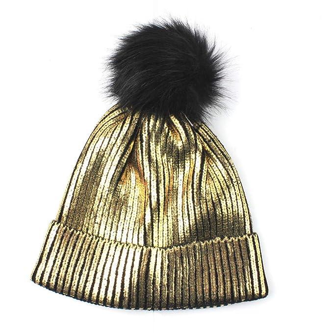... Invernale - Berretto donna Invernale Tumblr Pelliccia Berretti Donna  Cappellini Donna Invernale cappellino invernale Cotone  Amazon.it   Abbigliamento 8d0e729e4cde