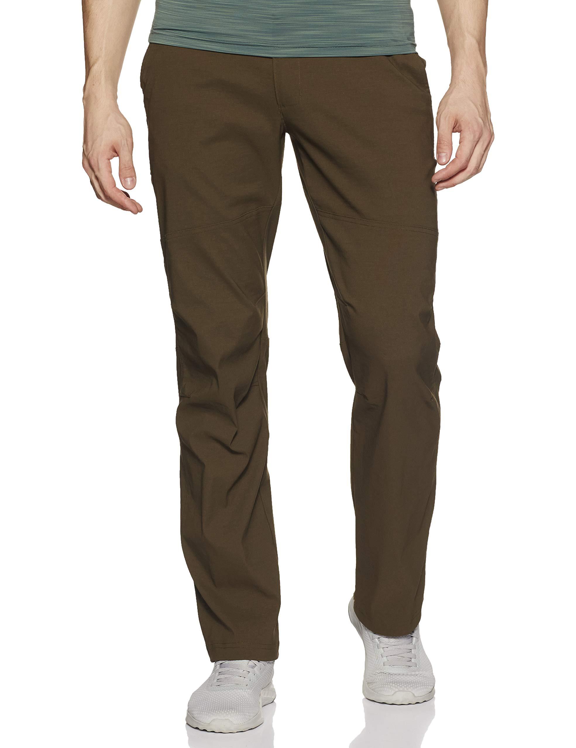 Columbia Men's Royce Peak II Hiking Pants, Water repellent, Stain Resistant, 42x32, Olive Green by Columbia