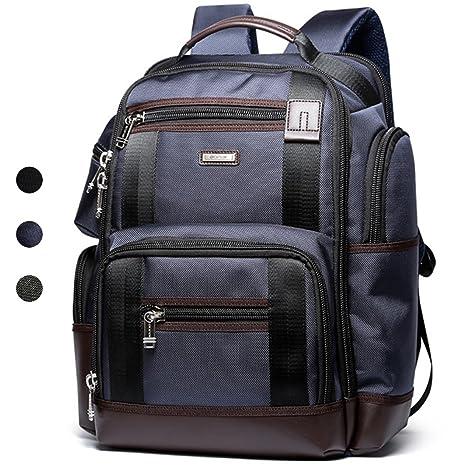 vendita calda online 39954 f8551 BOPAI Multifunzione Zaino Multitasche 15,6 Pollici Portatile Borsa da  Viaggio impermeabile Zaino Trekking Blu
