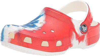 Crocs Kids' Classic Tie Dye Clog | Slip