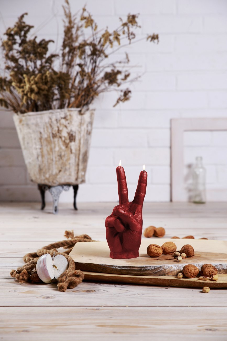 Candellana Candles Candellana- Peace Candle-Red by Candellana Candles (Image #1)