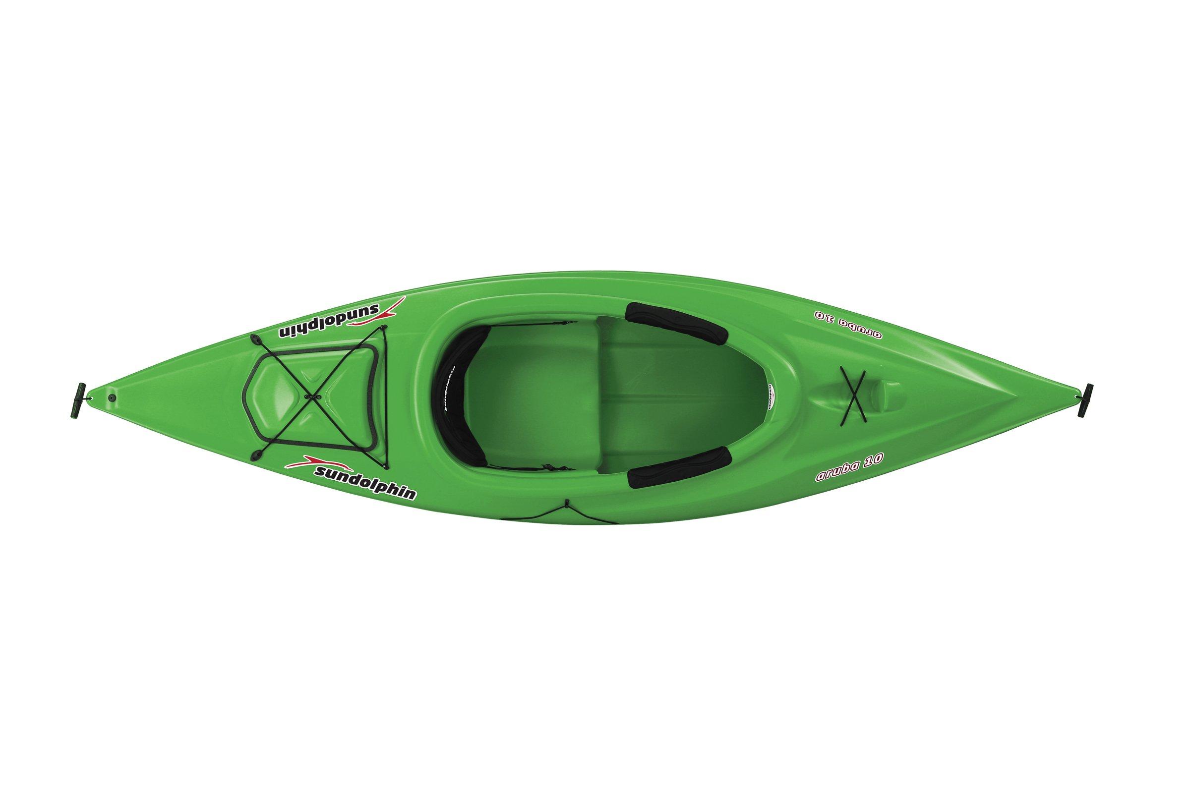 Sun Dolphin Aruba Sit-in Kayak (Lime, 10-Feet) by Sun Dolphin (Image #2)