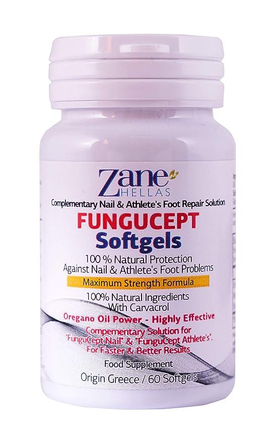 FunguCept Advanced Repair Solution. Producto para los cuidados del pie 100% natural. Resultados más rápidos y mejores. 1 oz - 30 ml de AthleteŽs, ...