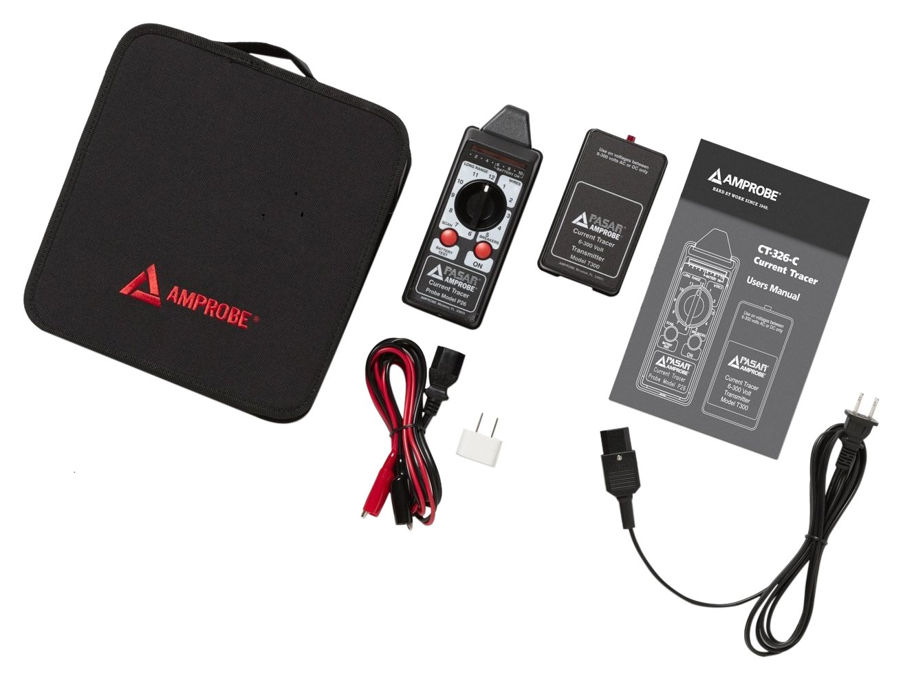 Amprobe Ct 326 C Current Tracer Kit Industrial Scientific Electrical Wiring