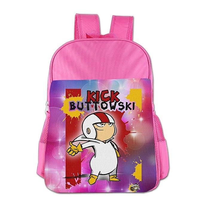 f87a66ceca82 Kids Kick Buttowski Suburban Daredevil School Backpack Style Children School  Bag Pink