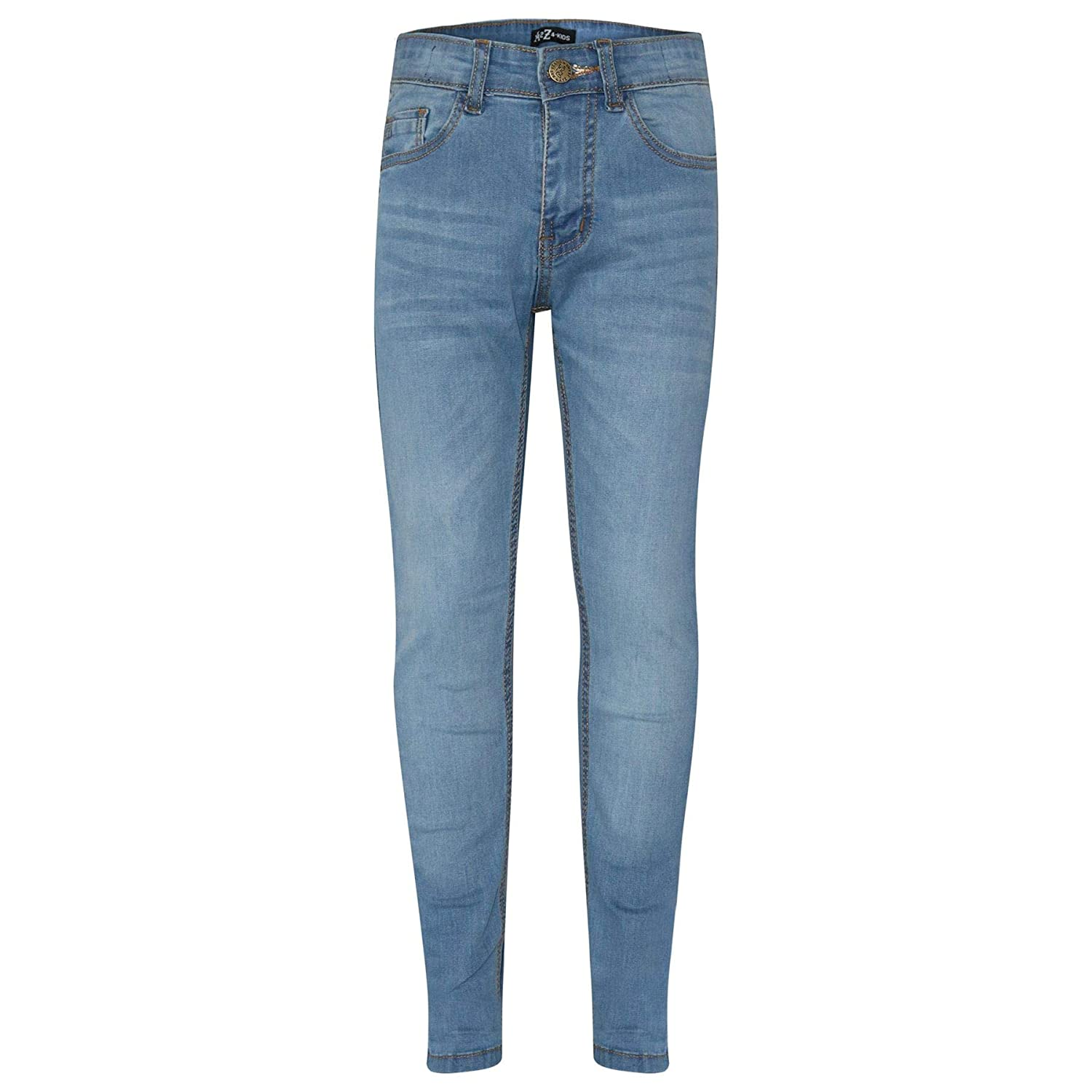 A2Z 4 Kids Kids Boys Skinny Jeans Designer's Denim Stretchy Pants Fashion Fit Trousers New Age 5 6 7 8 9 10 11 12 13 Years