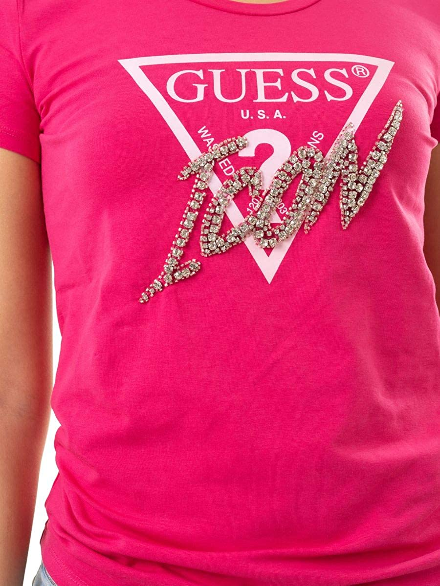 Guess SS CN Icon Tee T-Shirt Donna