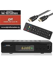 Xaiox Anadol 111c Full HD Receptor de Cable Digital (HDTV, DVB-C/C2, HDMI, SCART, PVR, Reproductor Multimedia, USB 2.0, 1080p) [Instalación automática]