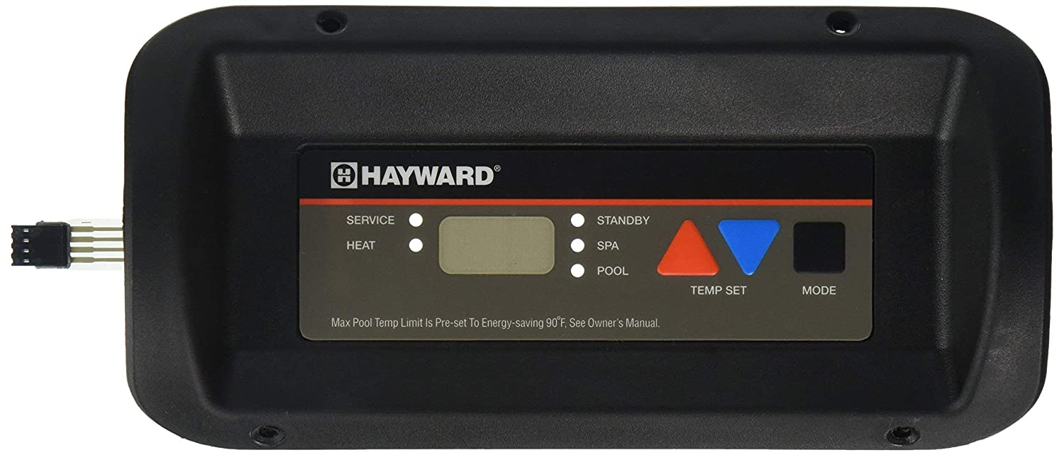 Hayward FDXLBKP1930 Bezel and Keypad Assembly Replacement Kit for Hayward Universal H-Series Low Nox Pool Heater Renewed