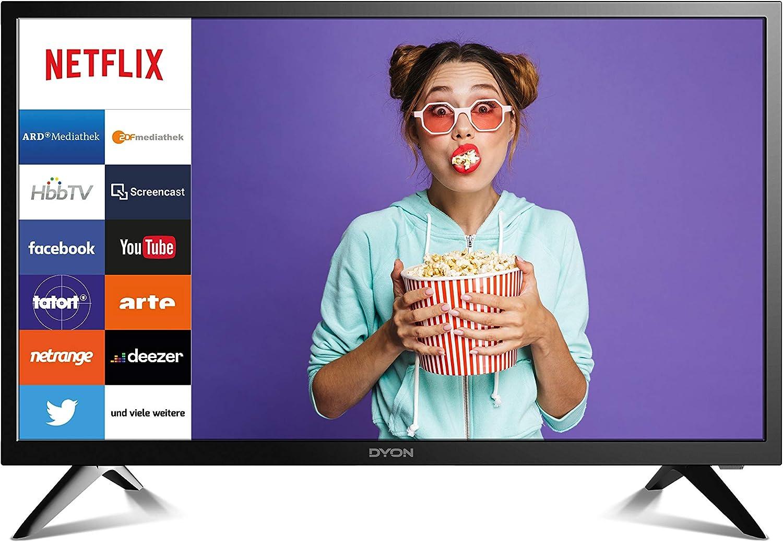 DYON Smart 24 60 cm (24 Zoll) Fernseher (Smart LED TV & HD Triple Tuner mit HbbTV und Netflix): Amazon.de: Heimkino - HBBTV
