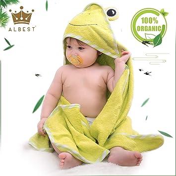 Bamboo Hooded Towel /& Washmitt