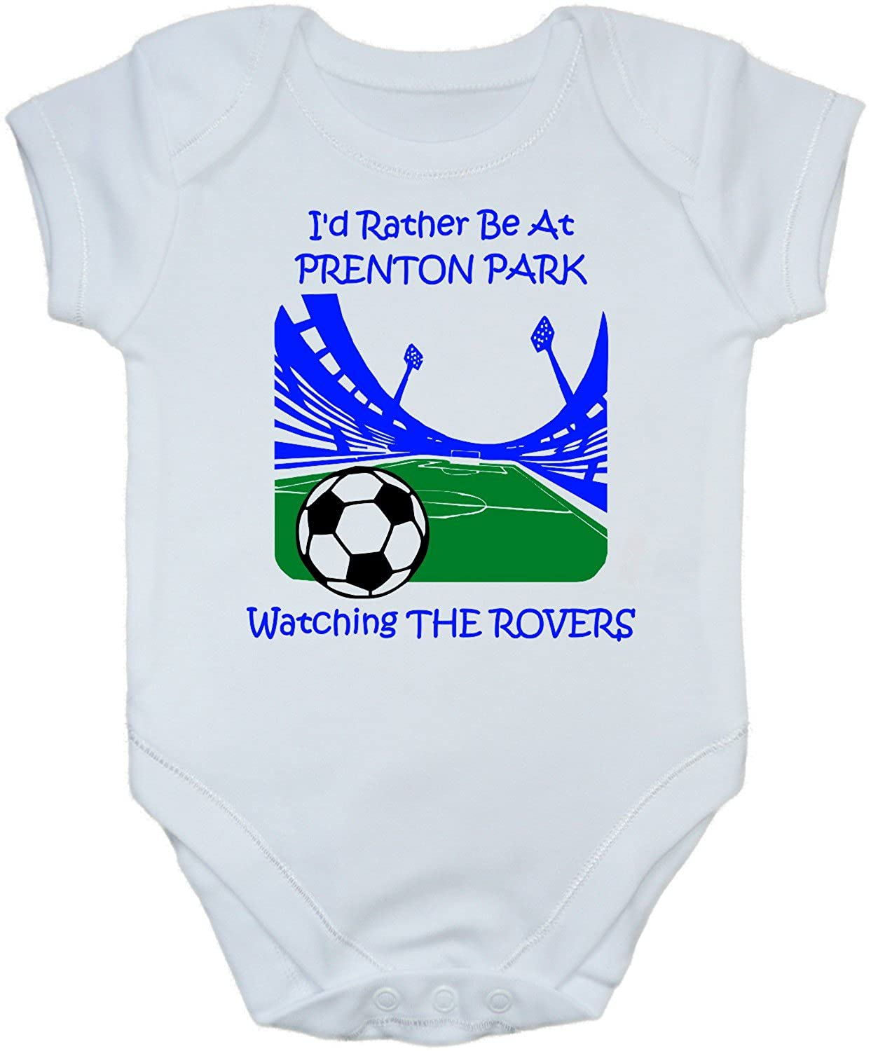 TRANMERE ROVERS Football Baby//Kids//Childrens T-shirt Top Personalised-Any colour
