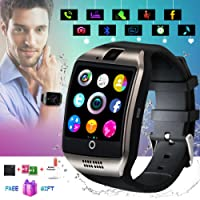 Smartwatch con whatsapp,Bluetooth smart watch Pantalla táctil,Reloj inteligente hombre,impermeable Smartwatches Compatible Android IOS iphone X 8 7 6 5 Plus Samsung Huawei para Hombre Mujer