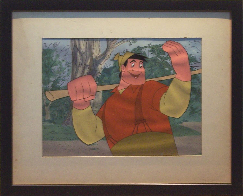 Paul Bunyan Vintage Animation Production Cel Rare Disney Art ...