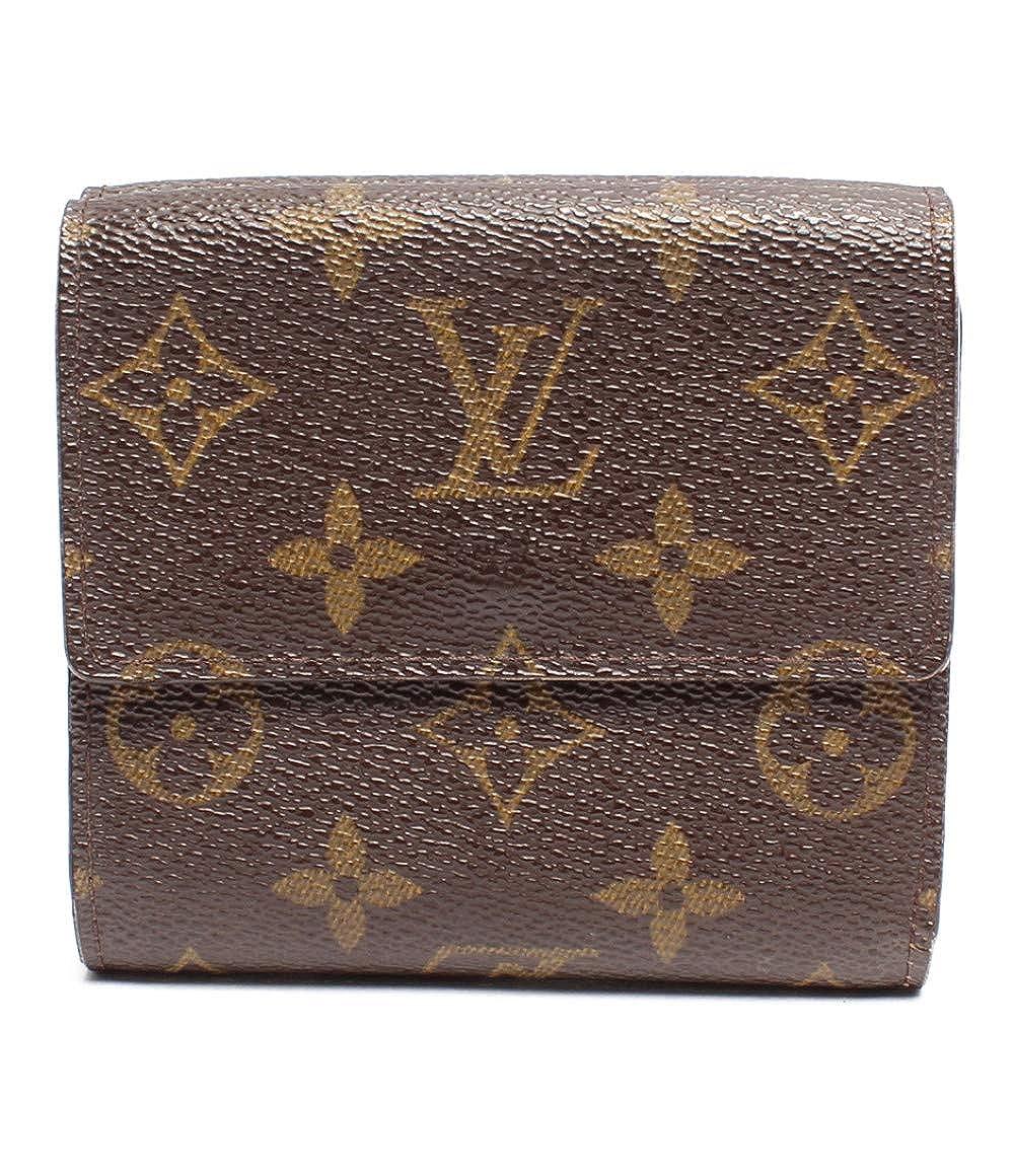 ルイヴィトン 二つ折り財布 ポルトモネ カルトクレディ モノグラム M61652 レディース Louis Vuitton 中古   B07QPW78X8