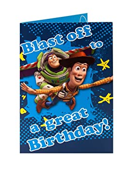 Disney Toy Story Woody Buzz Léclair Blast Off To A Great Birthday