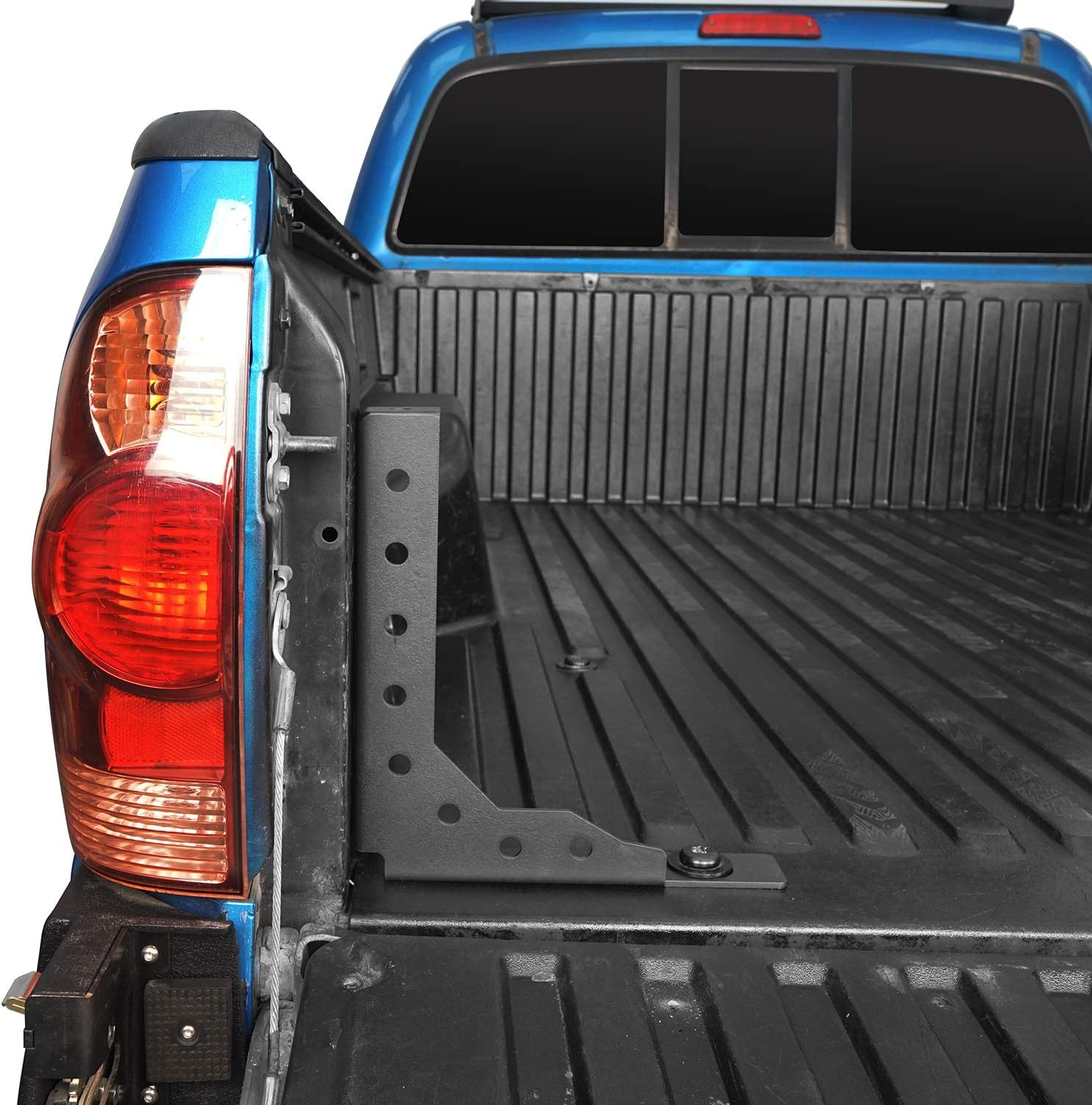 Pairs Hooke Road Tacoma Rear Bed Stiffener Brackets for 05-20 Toyota Tacoma 2nd /& 3rd Gen Pickup Truck