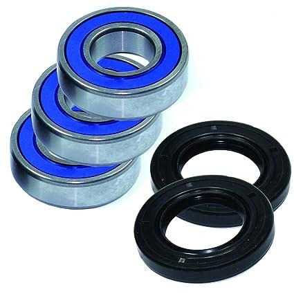 Yamaha YZ490 1982-1990 Rear Wheel Bearings And Seals Auto Parts and Vehicles Motorcycle Axles, Bearings & Seals