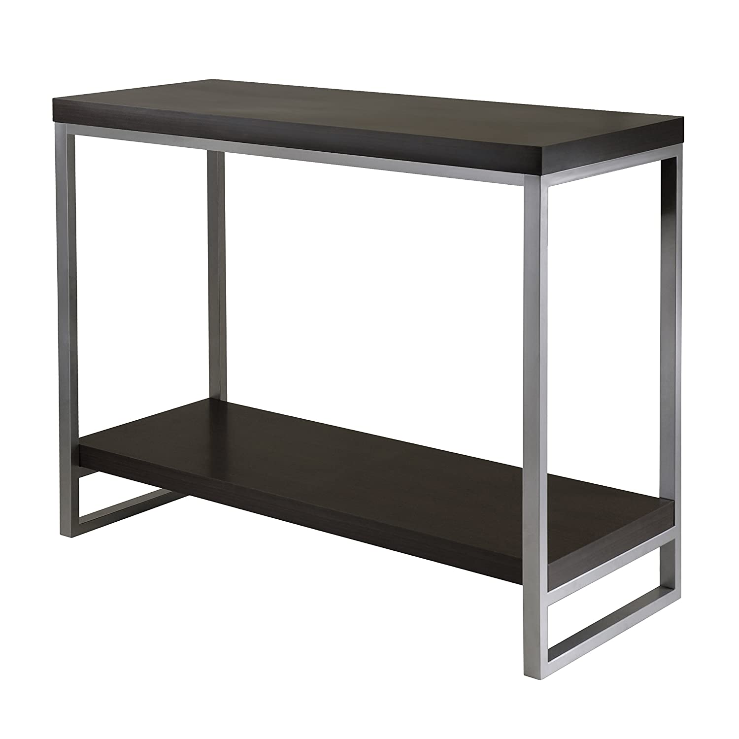 Amazon winsome wood jared console table espresso finish amazon winsome wood jared console table espresso finish kitchen dining geotapseo Gallery