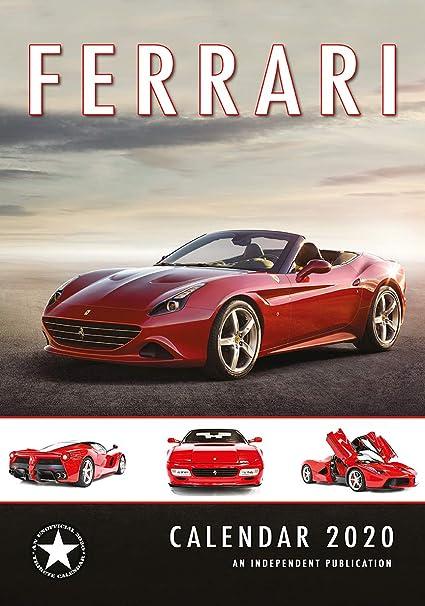 Calendario 2020 Ferrari - Coche de lujo - Italiano - Ferrari ...
