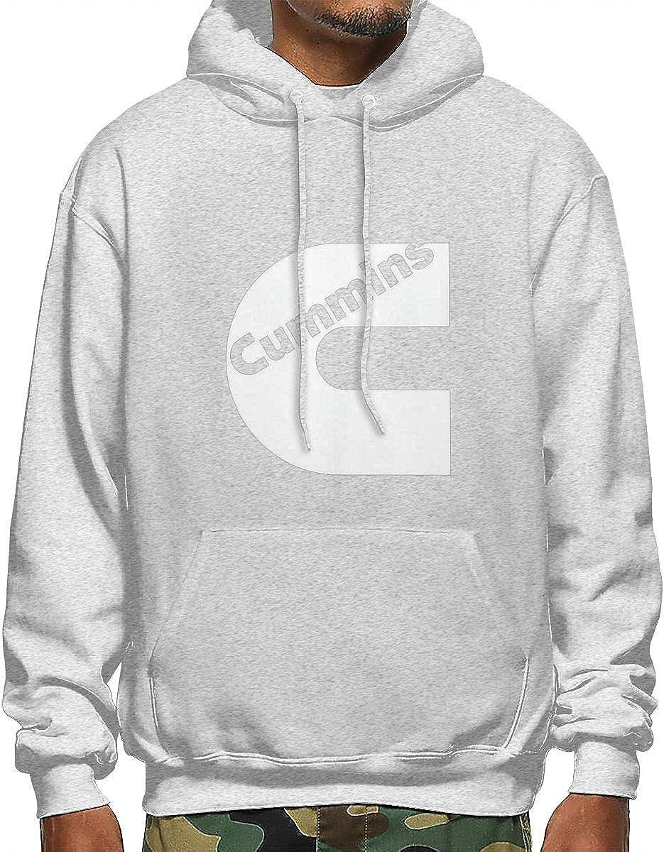 MACA1 3D Hoodie Sweatshirt,Cummins Mens Athletic Hooded Pullover Black