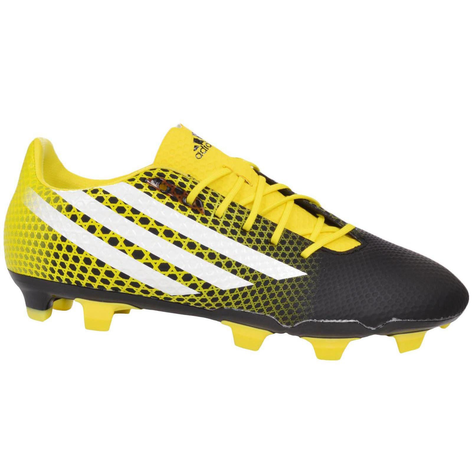 adidas Performance Mens Crazyquick Malice FG Rugby Boots - Black - 11.5US