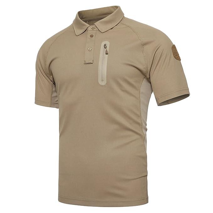 TACVASEN Camiseta - Manga Corta - Para Hombre Ffip9