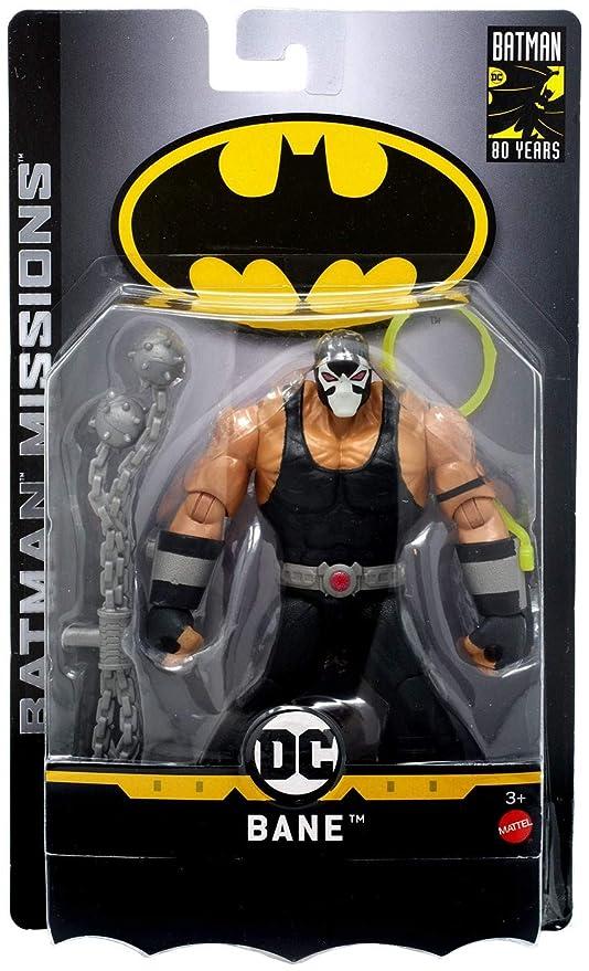 aafe259a50 Amazon.com  DC Comics Batman Missions Bane Action Figure  Toys   Games