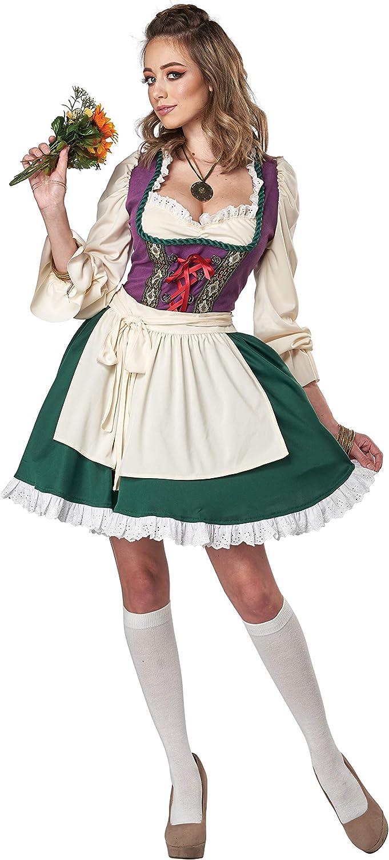 California Costumes Beer Garden Girl Adult Costume