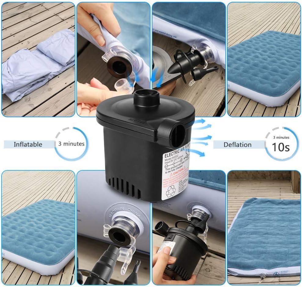Amazon.com: Bluehresy - Bomba de aire inflable para colchón ...