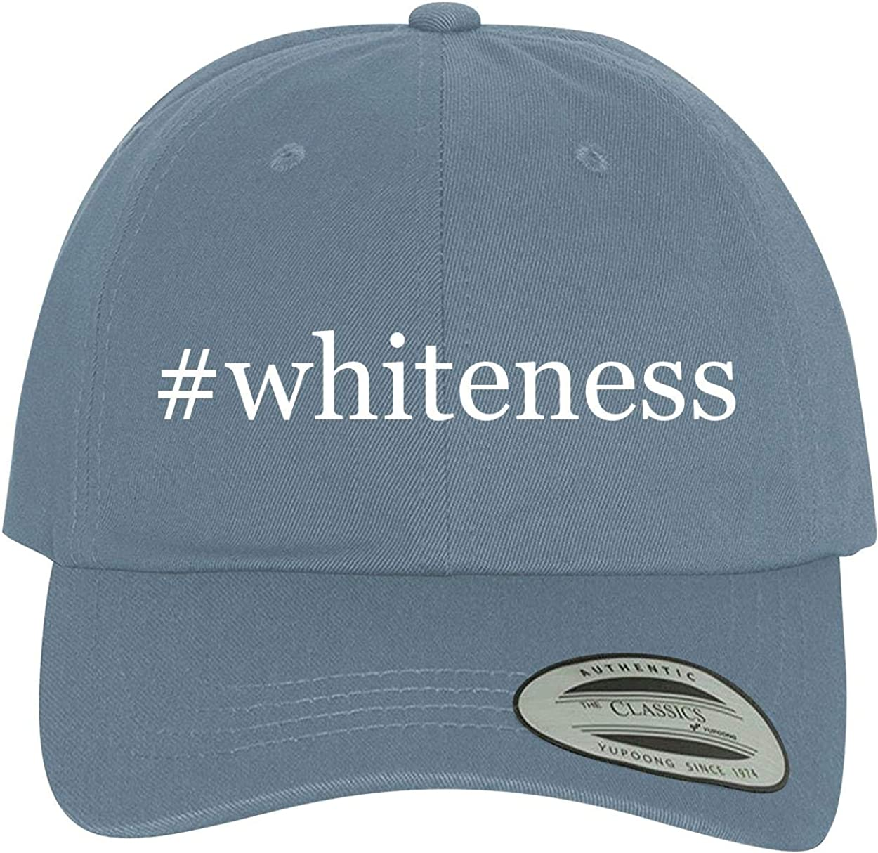BH Cool Designs #Whiteness Comfortable Dad Hat Baseball Cap